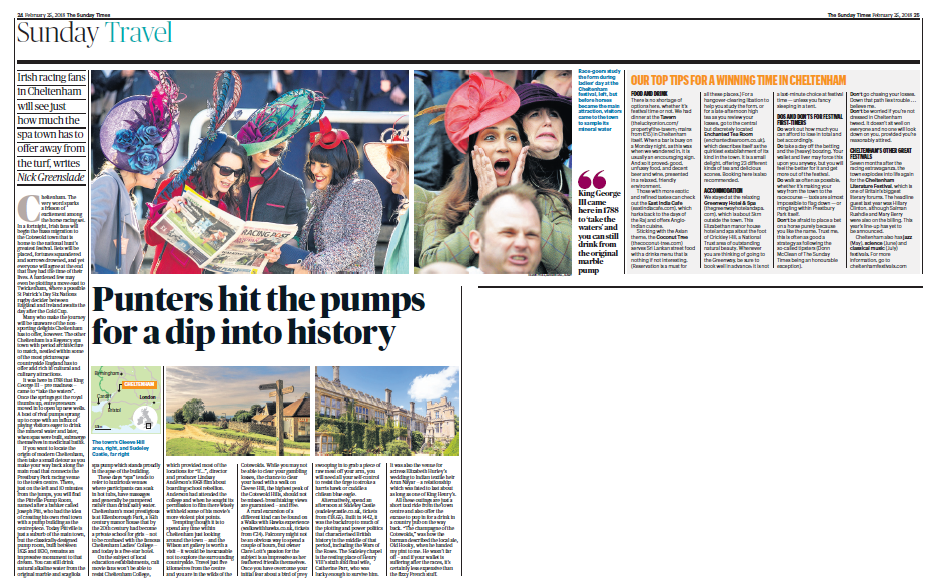 Sunday Times Article Image