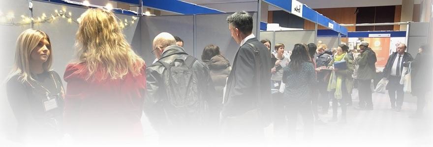 Stalls at recruitment fair